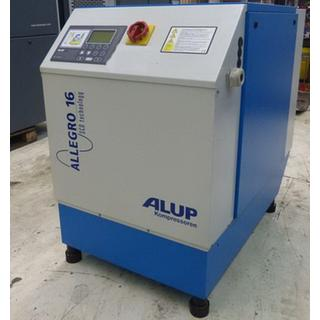 CHECKED - Air Compressors Oil Lubricated - Alup Allegro 16