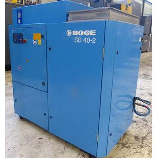 CHECKED - Air Compressors Oil Lubricated - Boge  SD 40