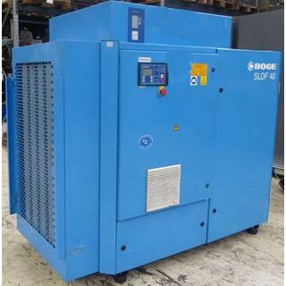 CHECKED - Air Compressors Oil Lubricated - Boge  SLDF 40