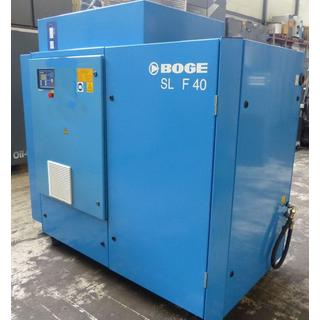CHECKED - Air Compressors Oil Lubricated - Boge  SL F 40