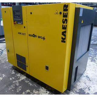 CHECKED - Air Compressors Oil Lubricated - Kaeser ASK 32 T SFC
