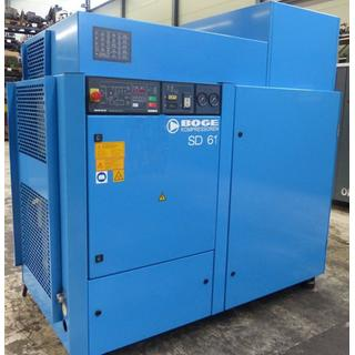 CHECKED - Air Compressors Oil Lubricated - Boge  SD 61